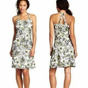 PRANA Quinn Sunflower Citron Sleeveless Dress M